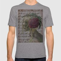 Ambiguous Idol Mens Fitted Tee Athletic Grey SMALL