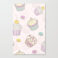 Sweets Galore! Canvas Print