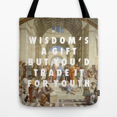The Step of Athens Tote Bag