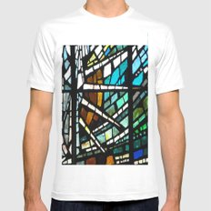 Son Rise White SMALL Mens Fitted Tee