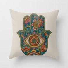 Hamsa Throw Pillow