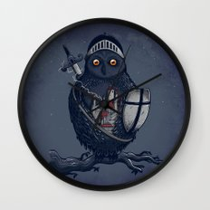 Night Watchman Wall Clock