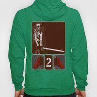 its rider was given power to take peace from the earth Hoody
