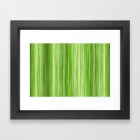 Ambient 3 In Lime Green Framed Art Print