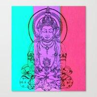 monday meditation Canvas Print