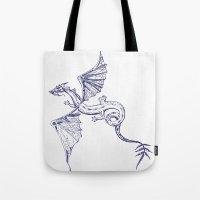 A Dragon's Tale Tote Bag