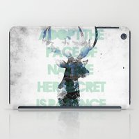 Adopt The Pace Of Nature… iPad Case