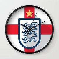 England Minimal Wall Clock