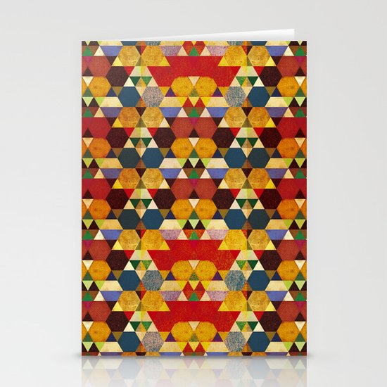 Kaleidoscopy Stationery Card