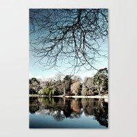 Mount Stewart Lake Canvas Print