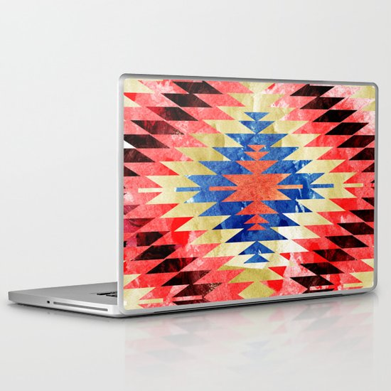 Painted Navajo Suns Laptop & iPad Skin
