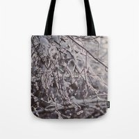 winter snow Tote Bag