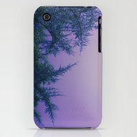 iPhone 3Gs & iPhone 3G Cases featuring Lavender Skies, Green Trees by DuckyB (Brandi)