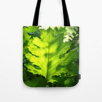Green Touch Tote Bag
