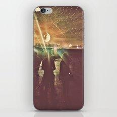 disco sunset iPhone & iPod Skin