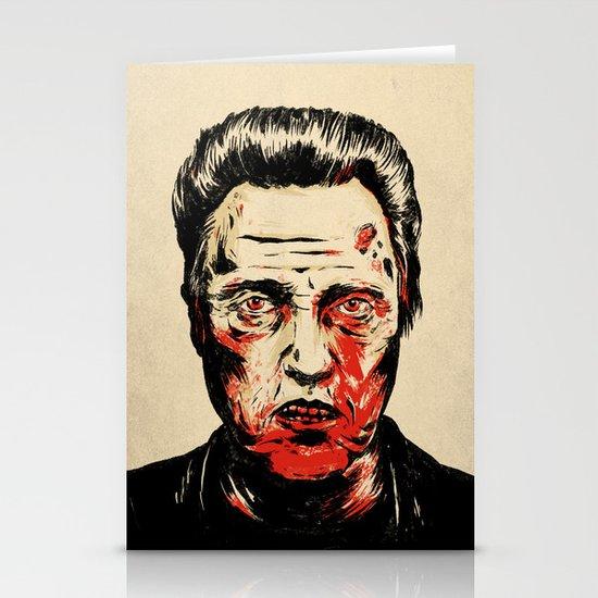 Walken Dead Stationery Card