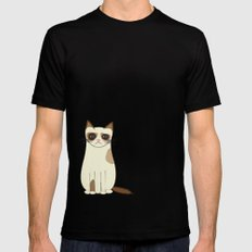 Grumpy Cat SMALL Mens Fitted Tee Black