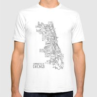 Communities Of Chicago Mens Fitted Tee White SMALL