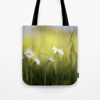 Daisy Landscape Tote Bag