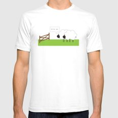 After Ewe Mens Fitted Tee White SMALL