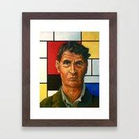 Ludwig Wittgenstein Framed Art Print