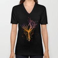 delicate tree Unisex V-Neck