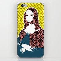 Mona Lisa SW+C X2 iPhone & iPod Skin