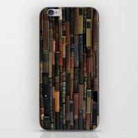 Books on Books iPhone & iPod Skin