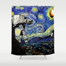 Starry Night versus the Empire Shower Curtain