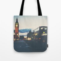 the night bus ...  Tote Bag