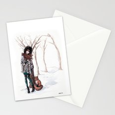 Woodland Frost Stationery Cards