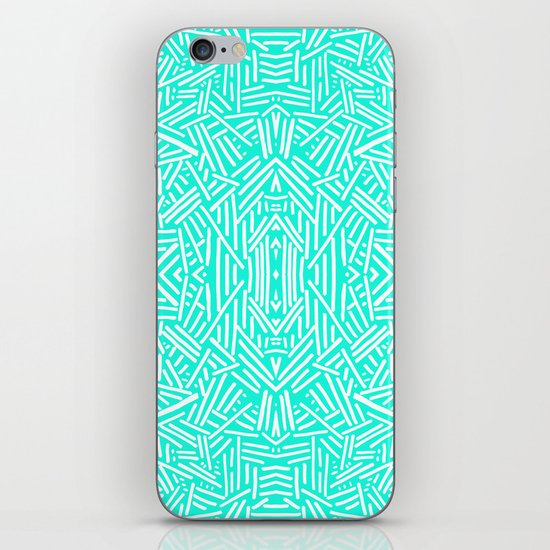 Radiate (Mint) iPhone & iPod Skin