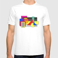 New Age Composition 2 Mens Fitted Tee White SMALL