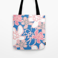 Camelia Woodcut Tote Bag