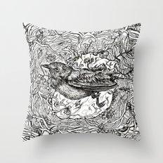 Nest for Heart Throw Pillow