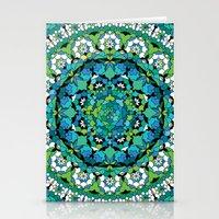 Khatem Rosette 003 | Turquoise Stationery Cards