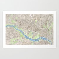 Richmond Virginia City M… Art Print