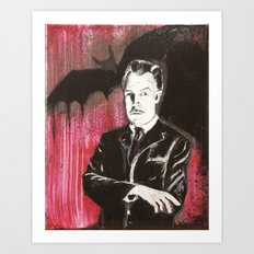 Vincent Price The Bat Art Print