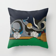Meditation Morning Throw Pillow