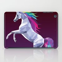 Geometric Unicorn iPad Case