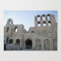 Greece - Athens Canvas Print
