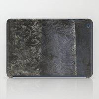 collage black iPad Case