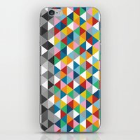 Triangles with Topper iPhone & iPod Skin