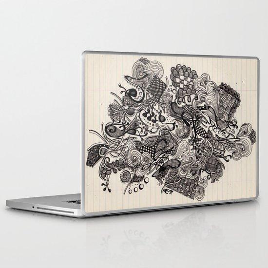 Untitled Vomit Laptop & iPad Skin