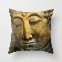 Buddho Throw Pillow