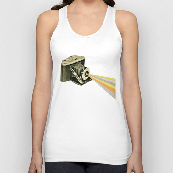 It's a Colourful World Unisex Tank Top
