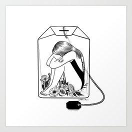 Art Print - Lady Grey Tea - Henn Kim