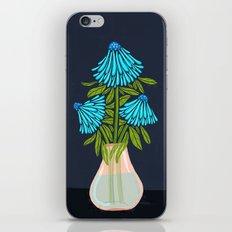 Blue Echinacea iPhone & iPod Skin