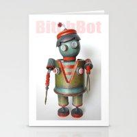 BitchBot Stationery Cards