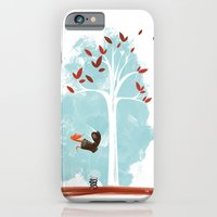 iPhone & iPod Case featuring Pinkerton the Snake's Happy Day by David Finley